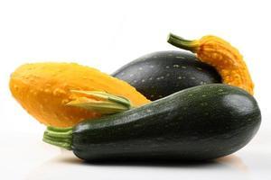 squash och zucchini
