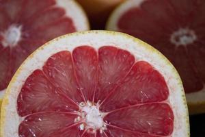 färska grapefrukt foto