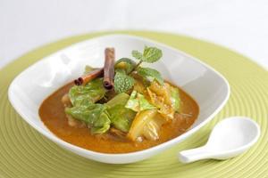curry grönsak foto