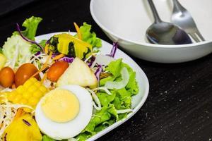 grönsaker och fruktsallad