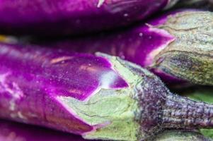 japansk aubergine foto