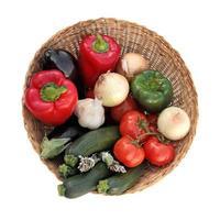 medelhavsgrönsaker foto