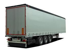 semitrailer för lastbil foto