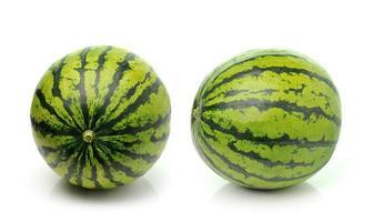 vattenmelon isolerad på vit bakgrund