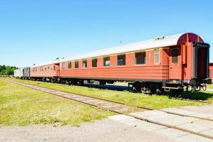 tågbilar foto