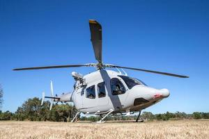 modern militär helikopter foto