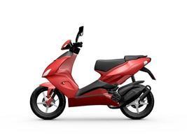 röd motorcykel foto