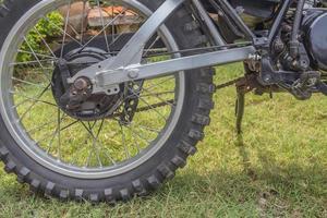 hjul motocross foto