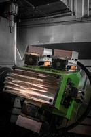modern industriell maskin foto