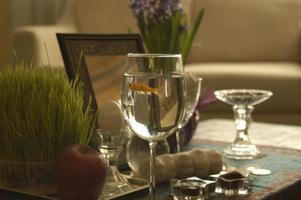persiska nyårspridning foto