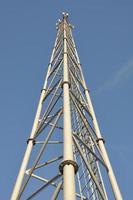 stål telekommunikation torn foto