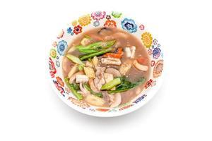 råtta na en thailändsk maträtt foto