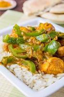 kyckling jalfrezi curry foto