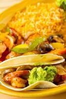 mexikansk restaurangmat foto