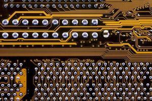 elektronisk - integrerad krets foto