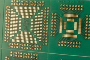 grön PCB foto