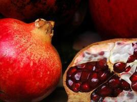 granatäpple, detaljer foto