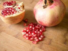 granatäppelfrukt foto