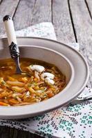 soppa med grönsaker foto