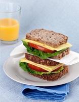 hälsosam lunch foto