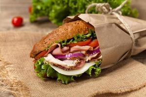 sub smörgås foto