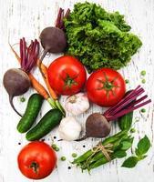 olika grönsaker