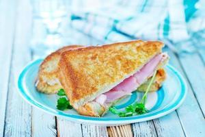 smörgåsar foto