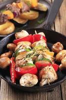 kyckling shish kebab