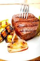 grillad nötköttfilmignon
