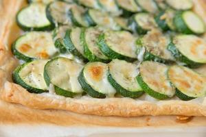 zucchini tårta foto