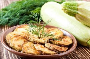 grön zucchini foto