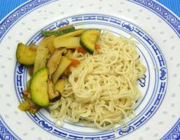 asiatisk maträtt foto