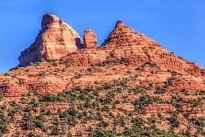 röda stenar i Arizona foto