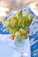 zucchini blommor foto