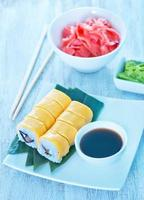 färsk sushi