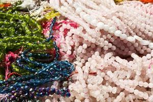 pärlor på tucson pärla och mineral show foto