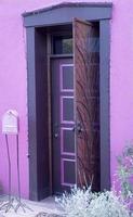 sydvästra dörröppningen foto