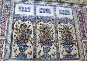 forntida fresker på väggen foto