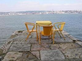 mesa com vista foto