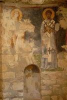 helgon nicholas kyrka (myra) - fresco foto