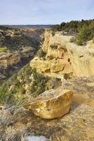 mesa verde nationalpark, colorado på vintern
