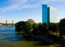 västra Sacramento skyline foto