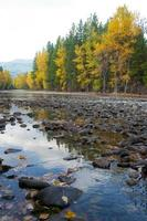 metow river. foto