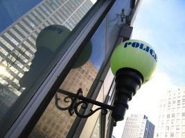polis tänder Atlanta foto