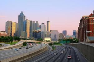 downtown Atlanta skyline foto