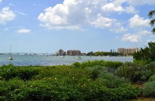 sarasotabukten i Florida foto