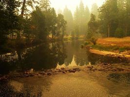 yosemite floden foto