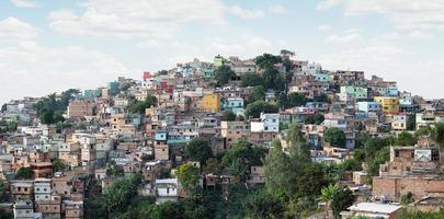 morro do papagaio at belo horizononte, minas gerais, Brasilien foto