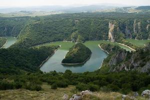 Uvac-floden foto