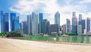 singapore skyline foto
